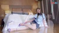 [Beautyleg]模特性感诱惑美腿丝袜写真制服诱惑学生装_高清