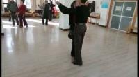 交誼舞慢四步銅牌練習