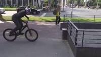 攀爬自行车高手