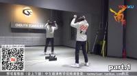 【南舞团】813tfboys四周年致敬迈克尔杰克逊 易烊千玺 舞蹈教学 分解教学 练习室(上)_高清