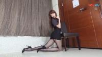 黑丝腿模美女制服诱惑,丝袜美腿气质绝佳!