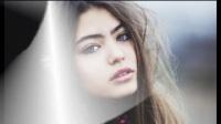 美女图赏,碧眼金发红唇:颜值出众,性感迷人的美女写真照