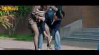 大学校园性感丝袜女教师险些走光