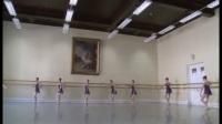 瓦岗诺娃芭蕾舞校三年级女生古典芭蕾考试 教师Enikeeva 2014年