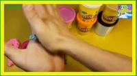 数字与孩子彩虹 ABC 播放卫生部学习英语的孩子制作泡沫