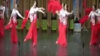 广场舞扇子舞 女子老年健身胶州秧歌《秧歌美》- 爆米花视频-精品视频