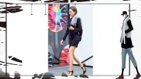 街拍 穿着时髦的几位美女, 修长白皙的美腿, 真带劲儿!