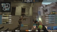 NIP vs Fnatic DreamHack大师赛 法国马赛站 BO3 第一场 4.21