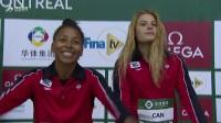 女子双人3米板颁奖典礼