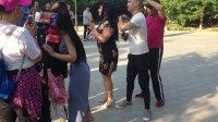 郑州商都公园少林尬舞