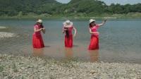 三美女在江边玩(二)