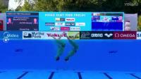 布达佩斯游泳世锦赛花样游泳男女自由自选预赛之104