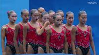 017布达佩斯游泳世锦赛花样游泳女子自由自选组合决赛片段之36