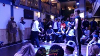 Funkin Stylez Paris preselections-Popping semi final Iron Mike vs Léa Djyl