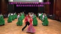 王建军胡小青2018万人交谊舞《塞北的雪》-崔各庄交谊舞队
