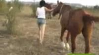 美女骑马1 (1)