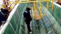 大型船身一次成型巨型真空袋树脂多孔灌注玻璃钢船体复合材料技术