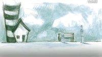 小站-铅笔手绘动画