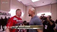 UFC赛场WWE布洛克偶遇巨石强森 brock Lesnar
