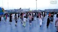 夹江滨江广场美女之舞三