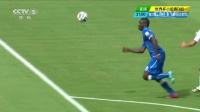 2014巴西世界杯每日进球小组赛 [射门]巴洛特利单刀挑射 皮球擦立柱而出 140621