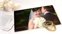 AE模板:白色浪漫婚礼相册动画 Videohive White Wedding