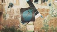 城市标志动画 街道实景与3D动画合成logo演绎AE模板