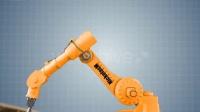 工业机器人动态抓取图片展示AE模板