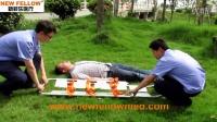 视频: 新菲乐医疗 铲式担架 铝合金担架 NF-C1