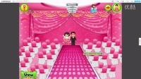 爱冒险的朵拉:朵拉的粉色婚礼装饰☆女生装扮游戏☆哲妈解说☆