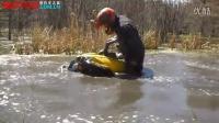 实拍ATV全地形车潜水