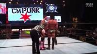 WWE冠军CM朋克与NXT冠军塞斯罗林斯同台