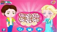 冰雪奇缘之艾莎的爱心饼干