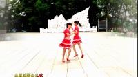 金盛小莉广场舞《么么哒》双人对跳