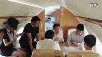 王健林直播私人飞机斗地主,鲁豫玩手机,网友喊话王思聪直播 超清