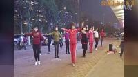 金盛小莉广场舞 网上这段缘 团队版