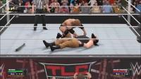 【WWE2K17无规则比赛】巨石强森单挑黑羊