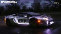 超炫涂装的 兰博基尼 Aventador LED灯光赛车 漂移车 老司机 RC t4
