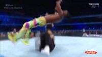 【去健身】WWE Smackdown 8-15-2017 Highlights Part-2