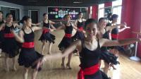 河南省星之海舞蹈艺考九月拉丁舞月考(王海悦老师-伊萍老师班级)恰恰基本步组合