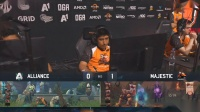 Alliance vs Majrstic DOTA2 PIT Minor 小组赛 bo3 第二场 4.24