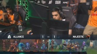Alliance vs Majrstic DOTA2 PIT Minor 小组赛 bo3 第三场 4.24