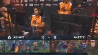 Alliance vs Majrstic DOTA2 PIT Minor 小组赛 bo3 第一场 4.24