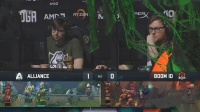 Alliance vs BOOM DOTA2 PIT Minor 淘汰赛 bo3 第二场 4.26