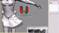 3dmax美女建模教程(CGWANG出品)第二十七集