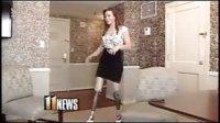 DAK amputee paralympian Oksana Masters wears heels