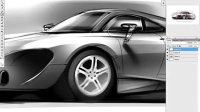 [PS]photoshop渲染保时捷汽车效果图视频教程