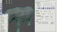 诺宝Maya教程多边形建模实例_大象6