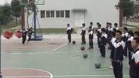 八年级体育万晓清-体育-《篮球的双手传递》_课堂实录与教师说课