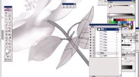 [Ai]\Illustrator教程\第九课 花—网格渐变的轮廓制作1